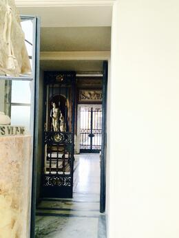 Vatican -Entrance to one of the secret rooms, Nancy - October 2014