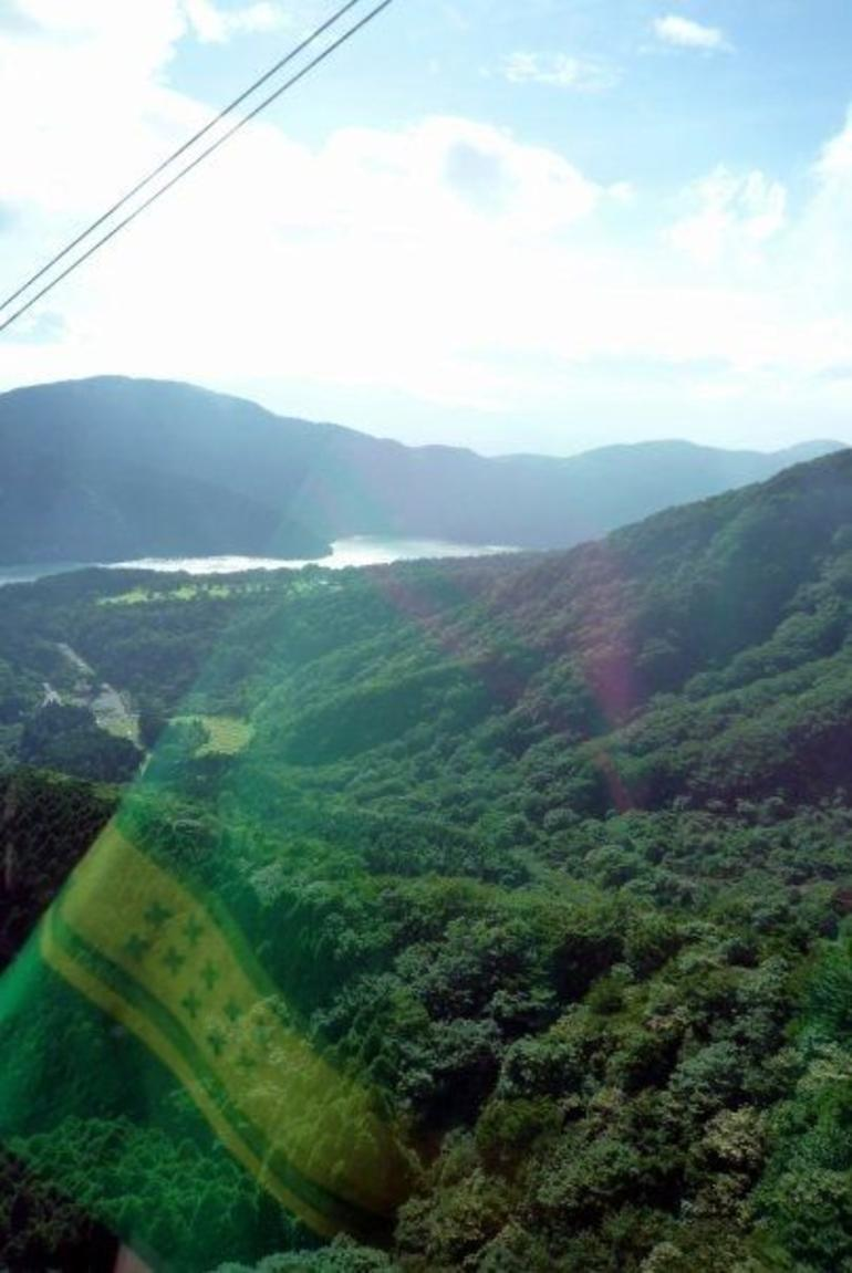 View from one of the Hakone Ropeways - Tokyo
