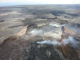 Soar over an active volcano, Gavin T - April 2013