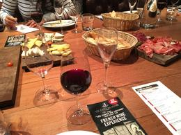 Wine and charcuteria on the table , Ahmer A - December 2016