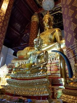The Buddha at Wat Phra Nah Meru. , Tigger - February 2017