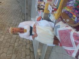 One of the local craftswoman , Andrew P - July 2017