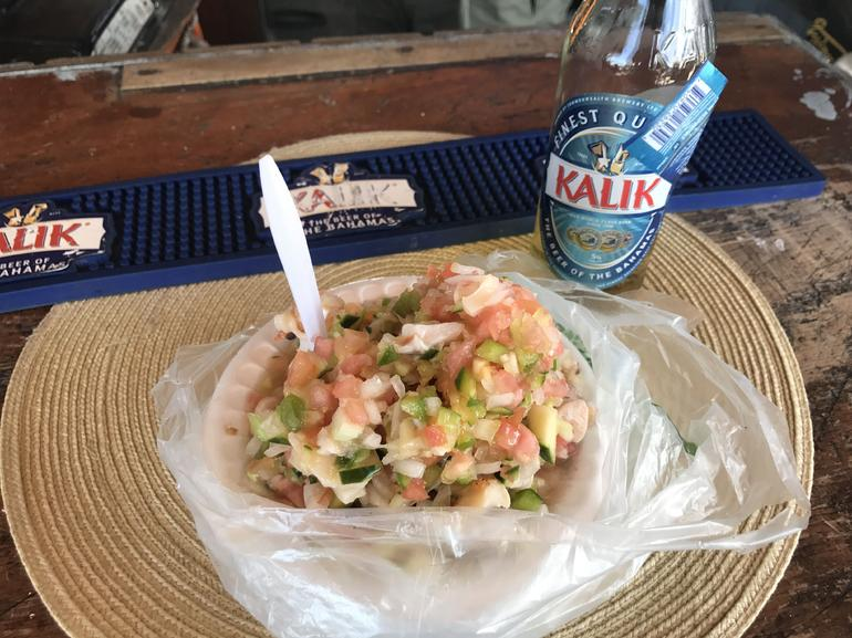 Conch Salad Cooking Lesson and Tasting in Nassau photo 4