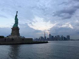 Lady Liberty with NYC skyline , Lee M - September 2017