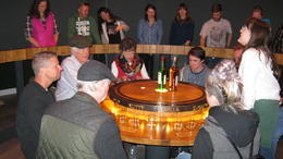 The tasting at the last stop of the Jameson tour. , Roger G - September 2017
