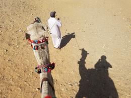 Just me and my shadow in the Sahara desert , CATARINO C - November 2017