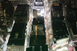 see the brightness of Times Square from the 86th floor! , Cheryl B - March 2012