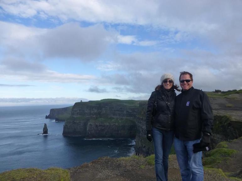 Atop the Cliffs - Dublin