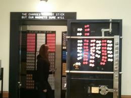 Checking out more of the Mob Museum, charley - September 2013