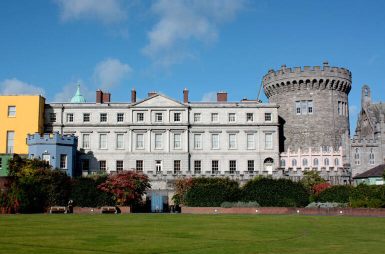 Dublin Castle in Ireland - Dublin