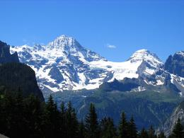 We had a gorgeous clear day where we could see the mountains almost from the beginning of the trip. , Bonnie M - July 2014