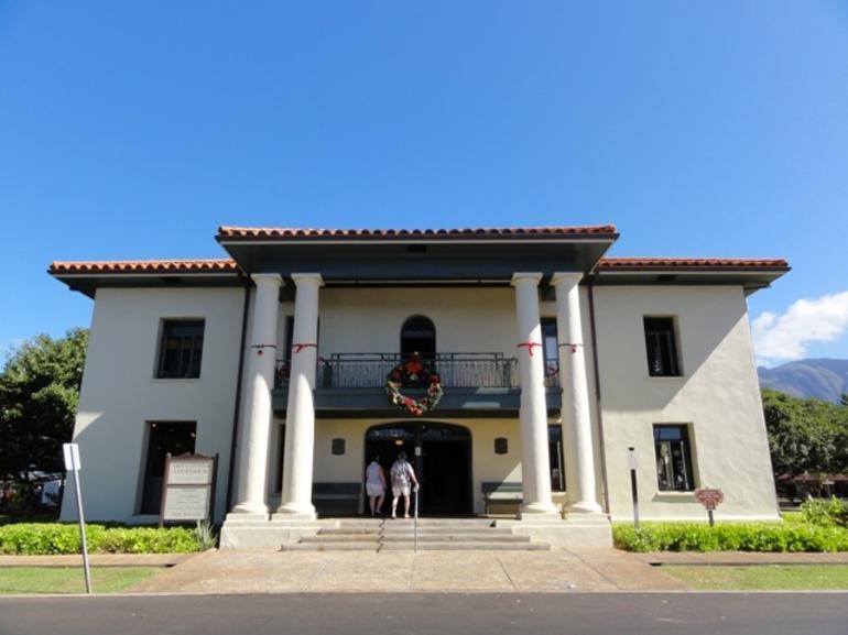 Lahaina Courthouse - Maui