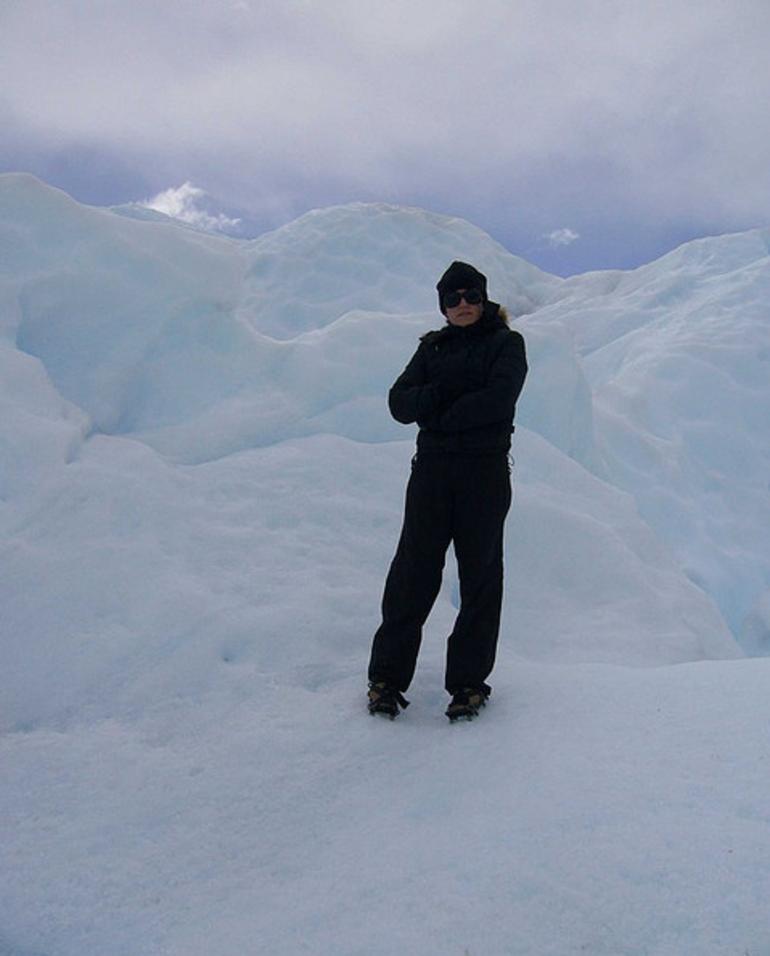 Me on Perito Moreno - El Calafate