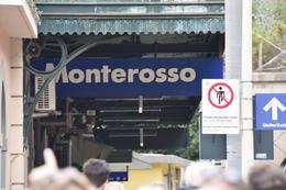 Monterosso train station , Angel F - October 2016