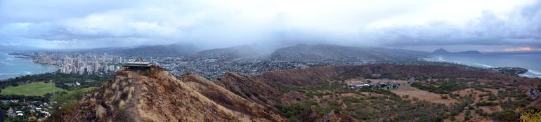 Panoramic view from the very top - Oahu