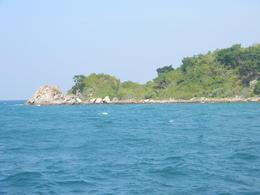 Pattaya Beach shot from our speedboat , Siladitya R - January 2011