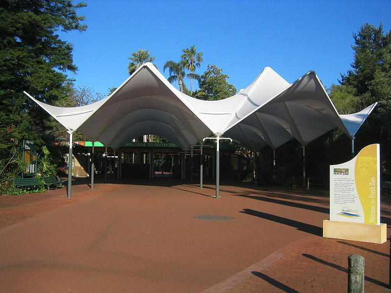 Perth Zoo Entrance - Perth