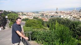 vista desde la a la Piazzale Michelangelo , soledad d - August 2013