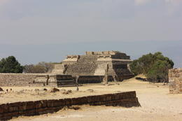 Main pyramid of Monte Alban, built by the ancient Zapotec people (pre-Colombian era). The Zapotec civilization dates back to more than 2,500 years., Bandit - November 2013