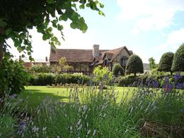 One can almost smell the lavender! The Bard's birthplace is quite a beautiful setting. The interior is striking, too, with vivid wall coverings, never thought to have been created in the 1500's. If..., Kristen L - August 2009