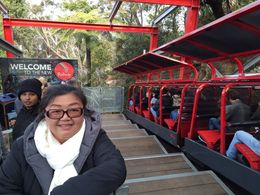 My aunt and I was at scenic world, took the 53 deg railway down. Great experience! , jooail - June 2015