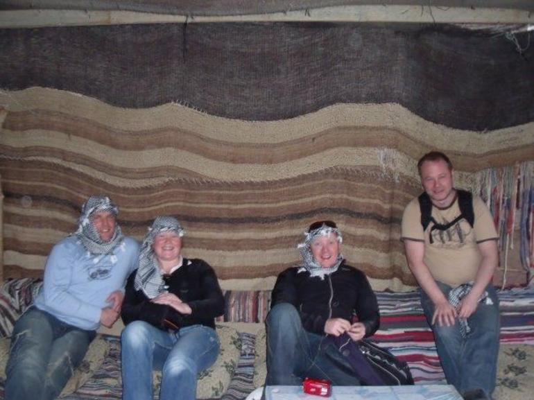 Tea break in the Bedouin village - Sharm el Sheikh