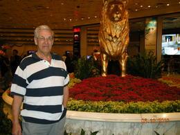 Trevor ready for the gambling tables , Trevor B - October 2013