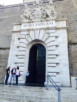 Vatican Entrance to the Vatican museums, Nancy - October 2014