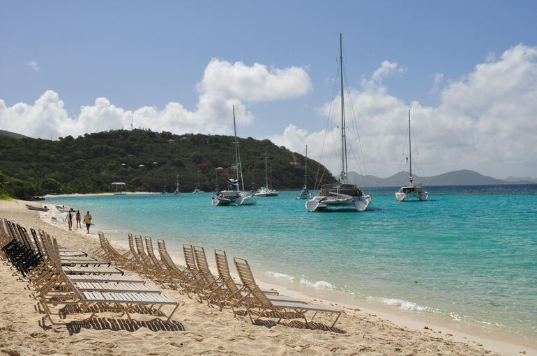 White Beach on Jost Van Dyke - British Virgin Islands