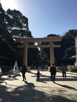 Meiji Shrine Gate , Melanie M - February 2017
