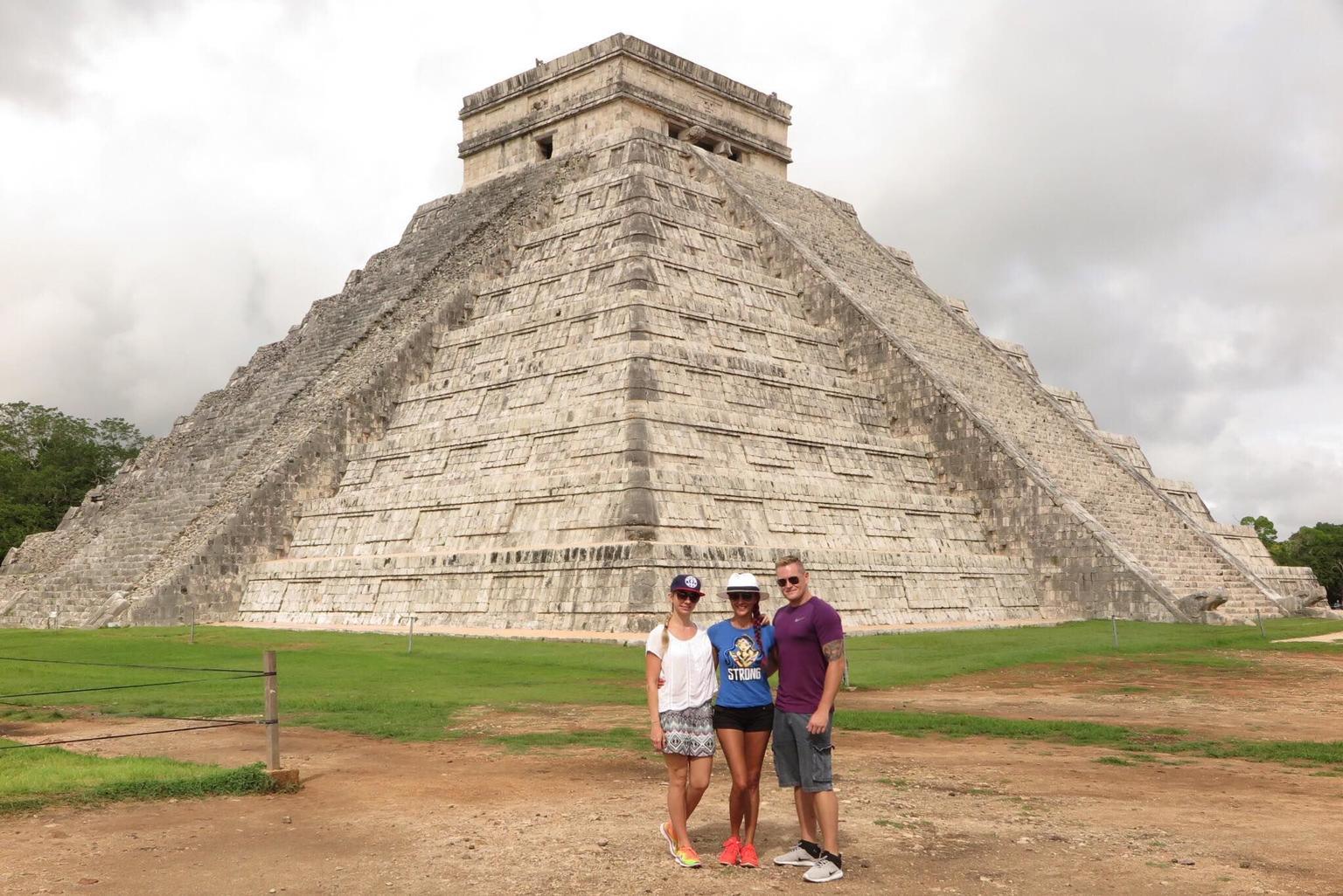 MAIS FOTOS, Chichén Itzá, Cenote Ik Kil e Coba saindo de Playa del Carmen