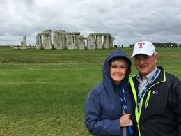 Our guide took this picture at Stonehenge , Diane G - July 2017