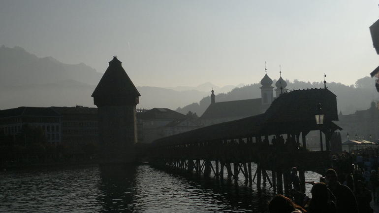 Chapel Bridge, Lucerne - Lucerne