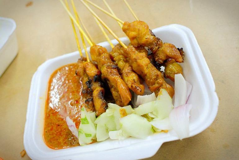 Chicken satay - Kuala Lumpur