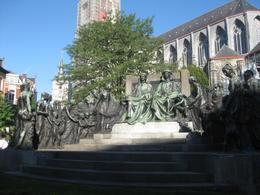 Brothers van Eyck monument , Guergana T - October 2013