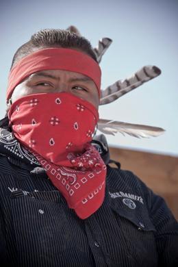 A Hualapai Native American Indian at the Ranch., Wayne M - October 2009