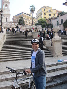 Spanish Steps on a beautiful Rome morning , Kevin M - October 2011