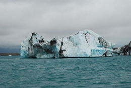 Bilden är tagen från en amfibiebåt i mitten av jökeln. Alla bilder är tagna med Nikon D80, 18-55 Nikkor , hemi-crania - August 2015