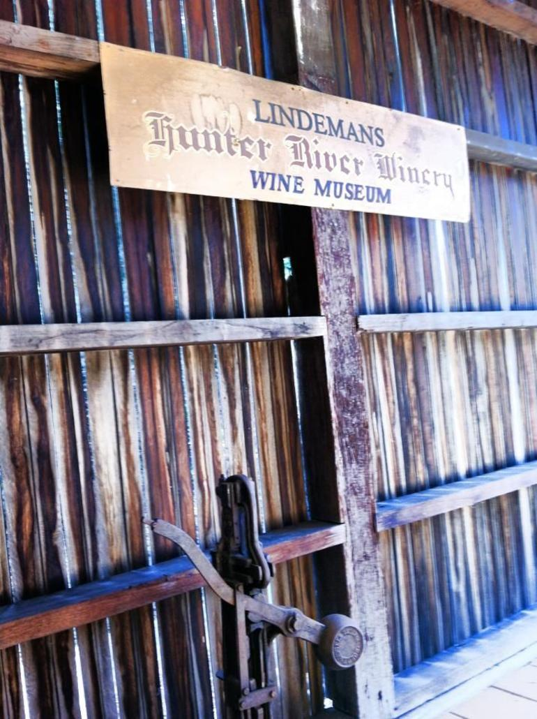 Lindeman's Wine Museum - Sydney