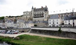 Amboise chateau, overlooking the village of Amboise and the Loire river, Helen L - September 2010