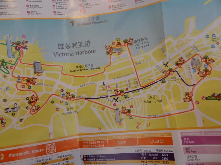 Metropolis Route - Hong Kong