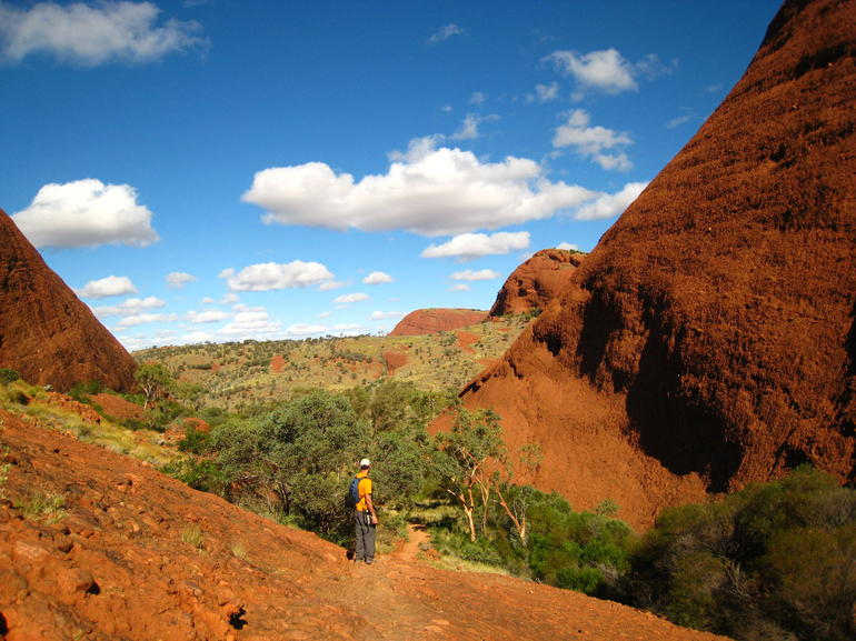 Olgas' Valley of Winds - Ayers Rock