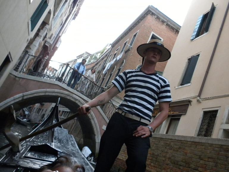 Our Gondalier - Venice