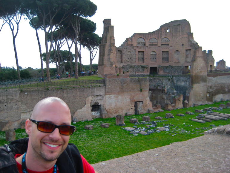 Palentine Hill Palace - Rome