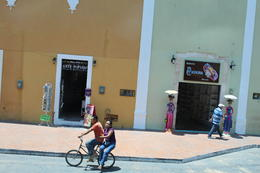 Local people, shops passing by on the way. , Diep T - May 2013