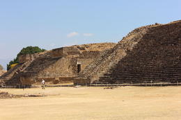 Close-up view of some of the pyramids at Monte Alban., Bandit - November 2013