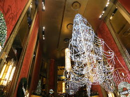 Tree of lights inside the Hall, Patricia P - July 2015
