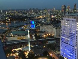 London city at night - from London eye , vfeddern - September 2016