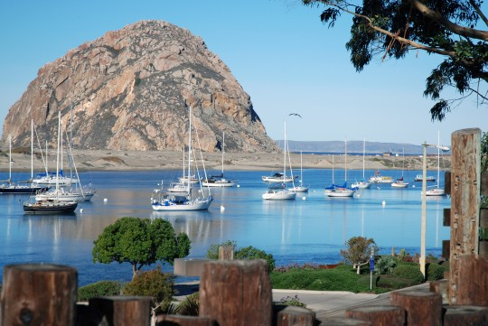 Morro Rock in San Luis Obispo