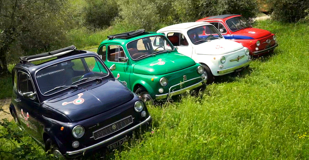 Self Drive Vintage Fiat 500 Tour From Florence Tuscan Hills And Italian Cuisine